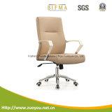 高品質PUの調節可能なオフィスの椅子(B653白)