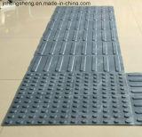 Assoalho antiderrapante de PVC/TPU que pavimenta a telha tátil