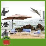 Parapluie latéral central de bonne qualité de jardin