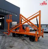 8-16m de uso al aire libre Mobile plegable brazo elevación del brazo para el mantenimiento