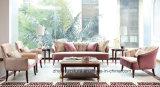 Sofá clássico novo da tela do sofá saudita/