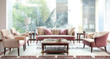 Sofa classique neuf de tissu de sofa saoudien/