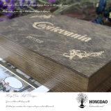 Hongdao kundenspezifischer hölzerner Uhr-Kasten für Speicherung und Display_L