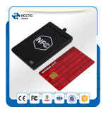 13.56MHz Suporta ISO 14443 RFID Mini NFC USB Card Reader / Writer ACR1251