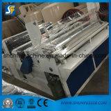 Rodillo automático del papel higiénico que raja la máquina el rebobinar para hacer el papel higiénico final