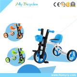 Giro leggero del triciclo/compatto del bambino sul giocattolo/su una bicicletta degli a buon mercato tre bambini delle rotelle