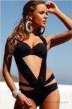 Fabrik-heiße verkaufendamen drücken Bikini hoch