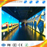 Alta definición, visualización de LED de alquiler a todo color de interior de P10 SMD (exploración 8)/pantalla
