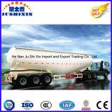 3 차축 45cbm Bulker 또는 대량 시멘트 또는 분말 수송 유조선 또는 반 유조 트럭 트레일러