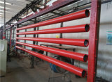 "Sch10 Sch40 10の""赤い塗られた消火活動鋼管"