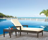 Outdoor Wicker / Rattan Pool Chaise Lounge (LN-6038)