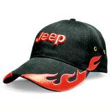 Построенная бейсбольная кепка спорта сандвича вышивки соединения пламени (TRB054)