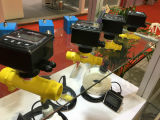 Rotamètre de tube de verre de débimètre à gaz