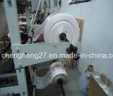 Líneas dobles bolso del chaleco que hace la máquina