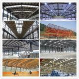Costruzioni prefabbricate chiare della struttura d'acciaio nel Senegal
