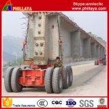 De speciale Vrachtwagen van de Aanhangwagen van Transportaion Lowbed van Machines Op zwaar werk berekende Semi