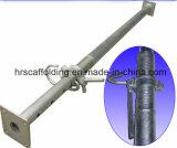 puntelli registrabili del puntello d'acciaio dell'armatura galvanizzati 4.0m per costruzione