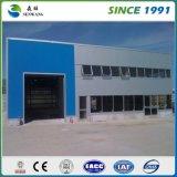Construction préfabriquée d'atelier d'entrepôt de structure métallique en Afrique