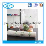 Мешок упаковки плоского дна LDPE пластичный для еды