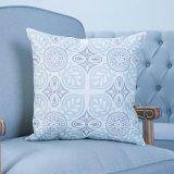 Ammortizzatore/cuscino decorativi della stampa di Digitahi con il reticolo geometrico di Ikat (MX-18)