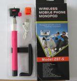 Оптовое перемещение Monopod мобильного телефона Z07-5 Bluetooth беспроволочное