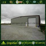 Garage ondulato prefabbricato dell'automobile della lamiera di acciaio della struttura d'acciaio (LS-S-089))