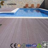Plancher extérieur WPC autour de la piscine (TW-02)
