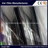 Lucida vinile della fibra del carbonio usato alta automobile 5D, pellicola della fibra del carbonio 5D
