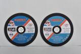 Roue de découpage pour l'abrasif d'Inox (230X2.5X22.2mm) avec des certificats de MPA