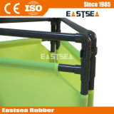 Road Construction Safety Portable Barricades Fabric Folding for Barricade Alerting Individuals