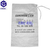 Анти--Затопите сплетенные PP мешки вкладышей песка с шнуром связи