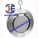 Valvola di ritenuta della cialda dell'acciaio inossidabile di pressione di API/DIN