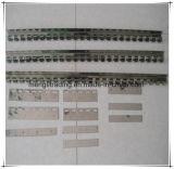 Trilho de cortina ao ar livre do PVC do uso durável