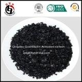 Carbono ativado da semente escudo verde-oliva