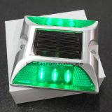 유럽은 알루미늄 합금 태양 도로 장식 못/LED 번쩍이는 도로 마커를 소개했다