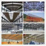 Costruzioni d'acciaio di risparmio materiale d'acciaio con il muro di mattoni