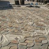 De natuurlijke Goedkope Straatsteen van de Matten van de Flagstone van de Lei (smc-R048)