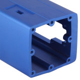 Aluminio / Aluminio Perfil (color anodizado es opcional )