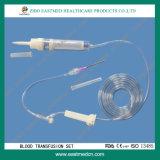 La trasfusione di sangue ha impostato con CE&ISO