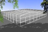 Grande e armazém fácil da construção de aço da instalação