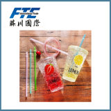 Material EP Travel Cup Kids Snack Bottle Straw Cup Suction Cups