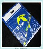 LDPE stempelschnitt Einkaufstasche-kundenspezifischer Locher-Griff-Plastiktasche
