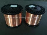 Diâmetro folheado de cobre 0.20mm do fio de Ccaa do condutor da liga de Alu CCA