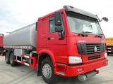 8X4 de Tanker van de Brandstof 30000L HOWO de Tankwagen van de Brandstof van 371 PK