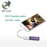 Type multi de la fonction USB 3.1 femelle de C au câble mâle d'USB 3.0 a/B avec la fonction d'OTG