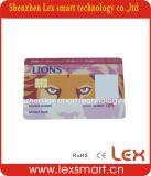 Смарт-карта IC контакта PVC контроля допуска ISO7816 (SLE5542)