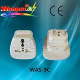 Всеобщее Переходник-Гнездо перемещения, штепсельная вилка (WAS-9)