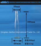 Bottiglia di vetro della bevanda con il Lungo-Collo e la Stretto-Bocca