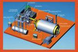 A máquina especial plástica da pirólise elimina a cera do petróleo