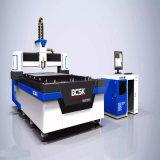 machine de découpage de laser de fibre en métal de la commande numérique par ordinateur 500W